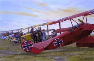 Red Baron Morn_Art
